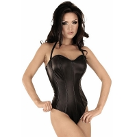ledapol 5669 body in pelle - body per donne