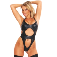 ledapol 941 body in pelle - body per donne